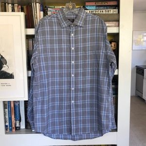 Joseph Abboud Plaid Button Down